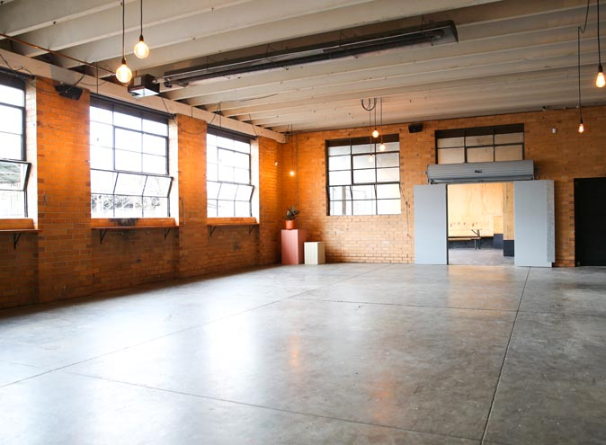 Small Talk Events Space – Warehouse Hire