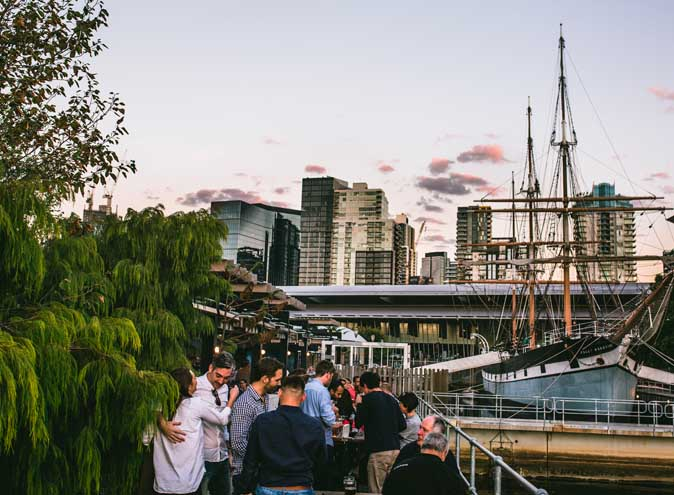 The Boatbuilders Yard – Waterfront Bars