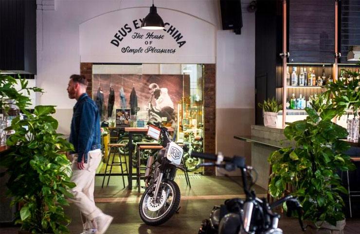 deus ex machina camperdown sydney cbd NSW motorcycles japanese cuisine cafe biker coffee house simple pleasure 8
