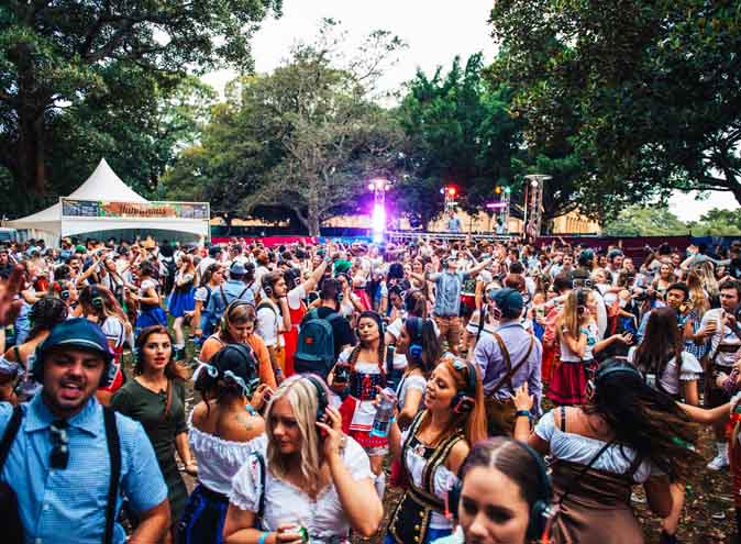 oktoberfest sydney gardens silent disco october festival hidden city secrets germany beer stein