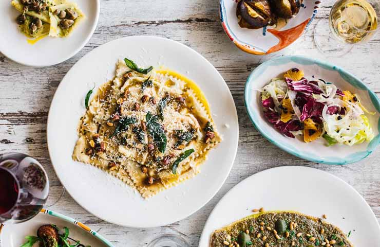 pasta e basta cappriccio osteria and bar events dinner pasta whats on sydney leichhardt restaurant sydney