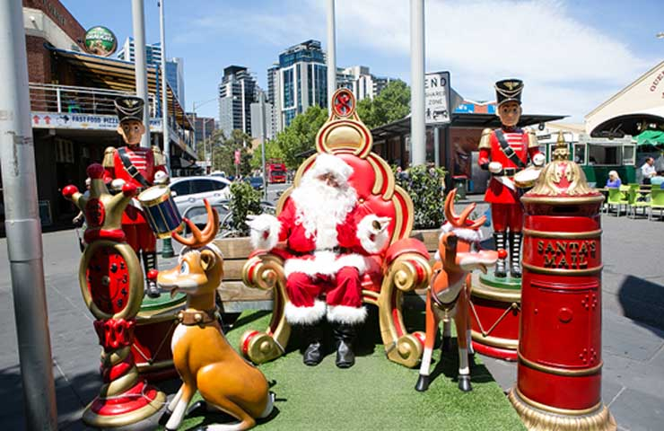 Queen Victoria Market Melbourne events christmas holidays stalls food drink workshops december top best good 2