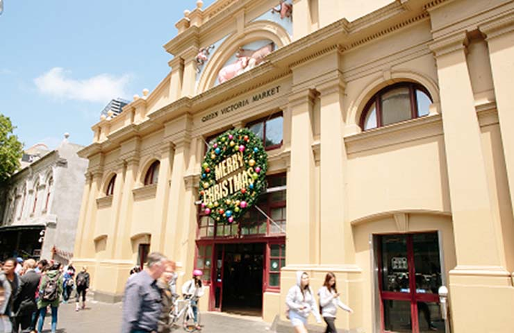 Queen Victoria Market Melbourne events christmas holidays stalls food drink workshops december top best good