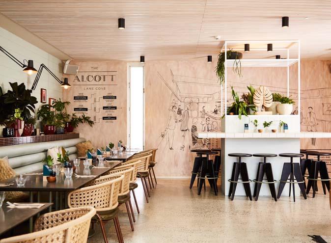 ALCOTT, Lane Cove <br/>Best Al Fresco Dining