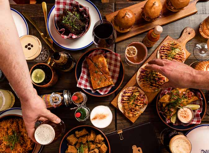 White Oaks Saloon Melbourne Prahran restaurant restaurants american themed unique fun burger mexican small date good top 010 1