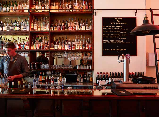White Oaks Saloon – Unique Venues