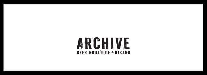 Archive Beer Boutique + Bistro – Craft Beer Bar