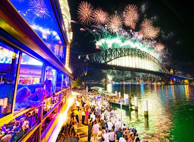 luna park new years eve party harbour party sydney