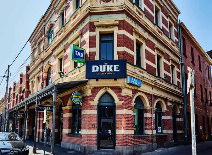 Duke of Edinburgh Hotel – Sports Bars