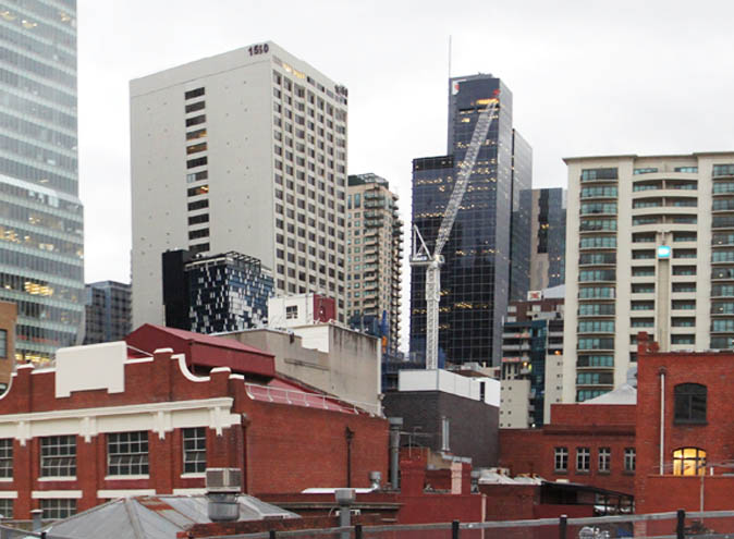 Golden Square Parking <br/> Blank Canvas Rooftop