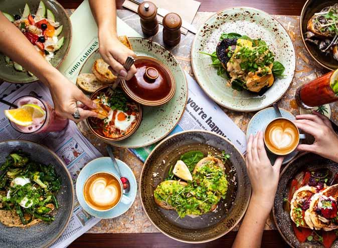 Soho Gardens – Outdoor Dining