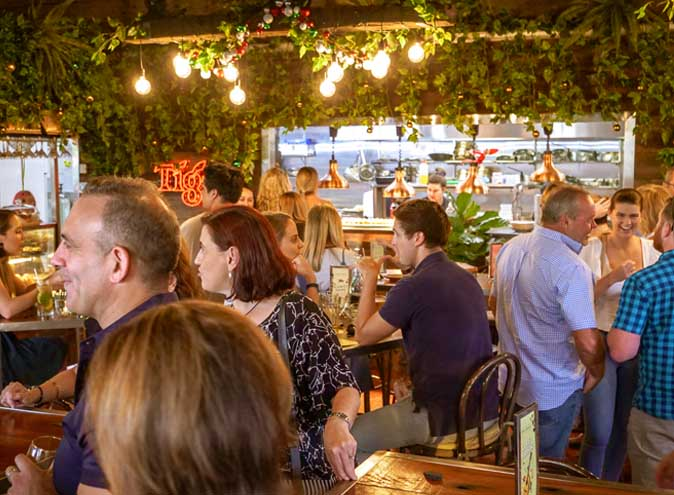 Soho Gardens <br/> Top Outdoor Dining