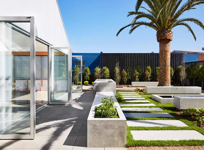 Carman's Space – Private Courtyard Spaces