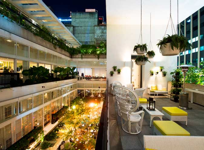 Ivy Sunroom – Rooftop Venue Hire
