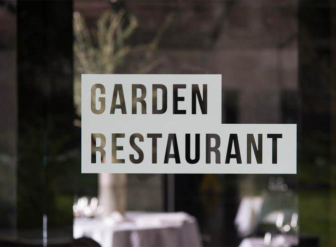 National Gallery Of Victoria </br> Outdoor Garden Restaurants