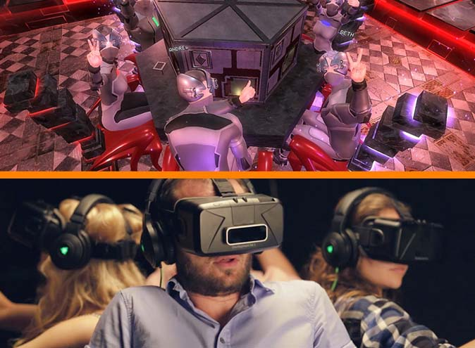 Virtual Reality Rooms – Interactive Venues