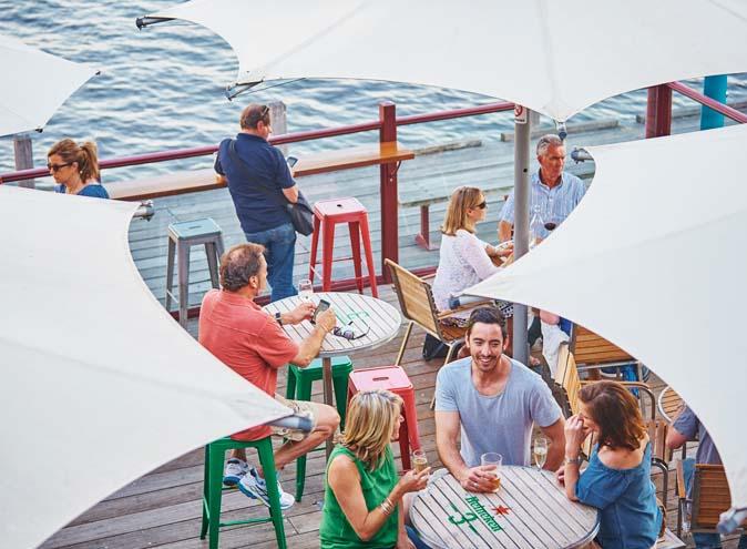 The Lucky Shag <br/> CBD Waterfront Bars