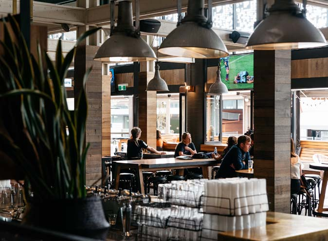 Melbourne Public – South Wharf Bars