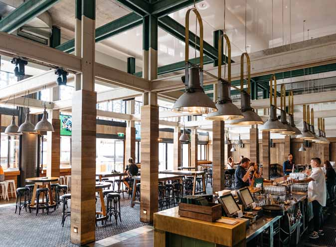 Melbourne Public – South Wharf Eateries