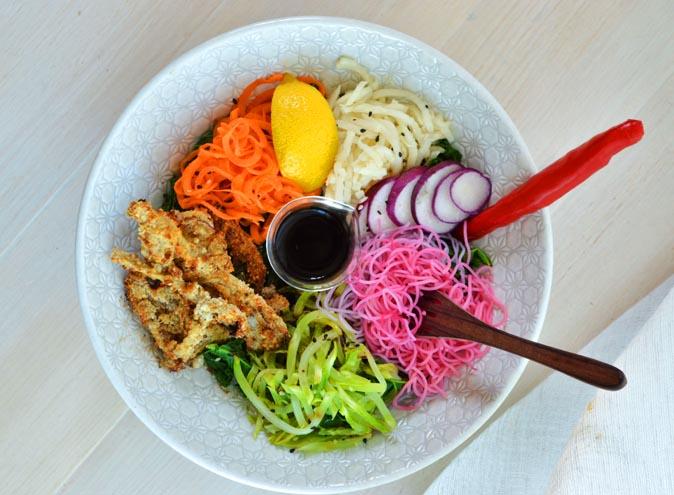 serotonin eatery cafe richmond burnley melbourne cbd brunch healthy happy acai salad coffee 2