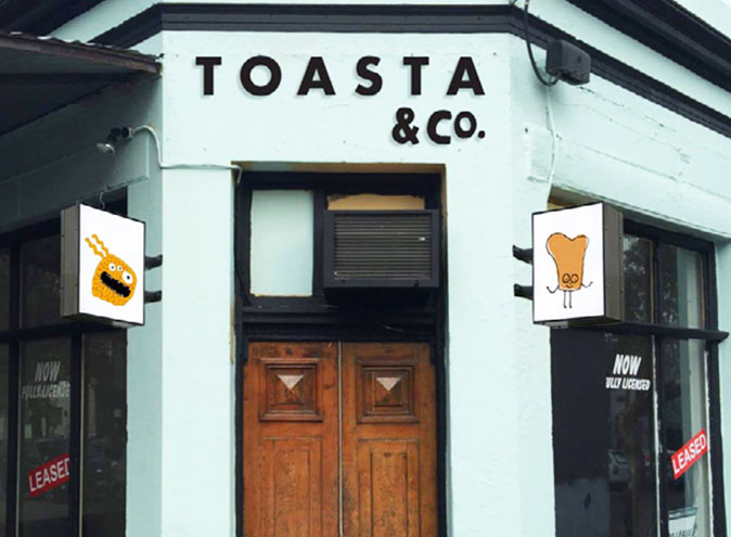 TOASTA & Co </br> Best Casual Cafes