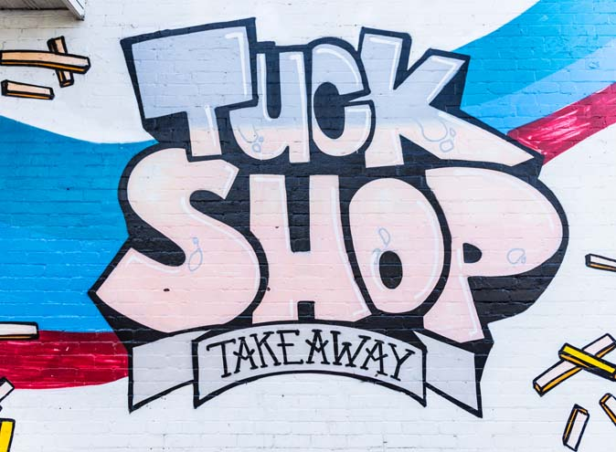 Tuck Shop Take Away </br> Intimate Restaurants