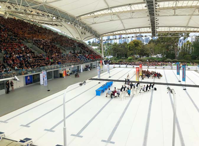 Melbourne Sports & Aquatic Centre<br/> Unique Event Spaces