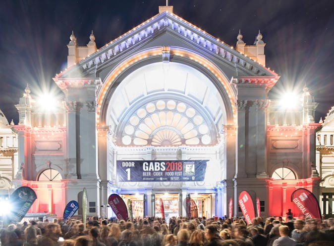 gabs beer food festival royal exhibition building melbourne events