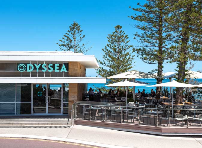 Odyssea City Beach – Scenic Restaurants