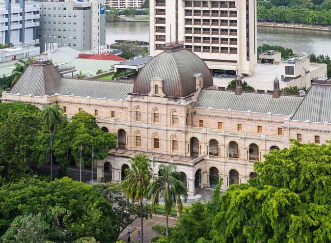 Parliament House Queensland – Top Spaces