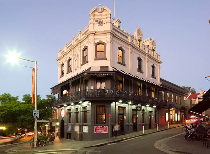 Royal Hotel Paddington – Large Venues