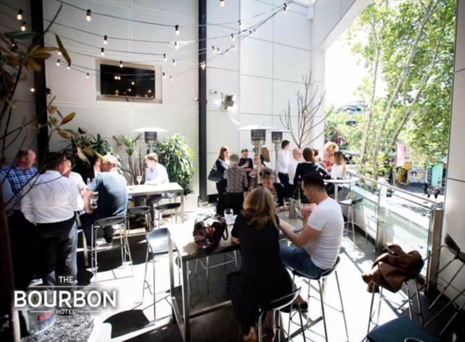 The Bourbon Hotel <br/>Best Outdoor Bars