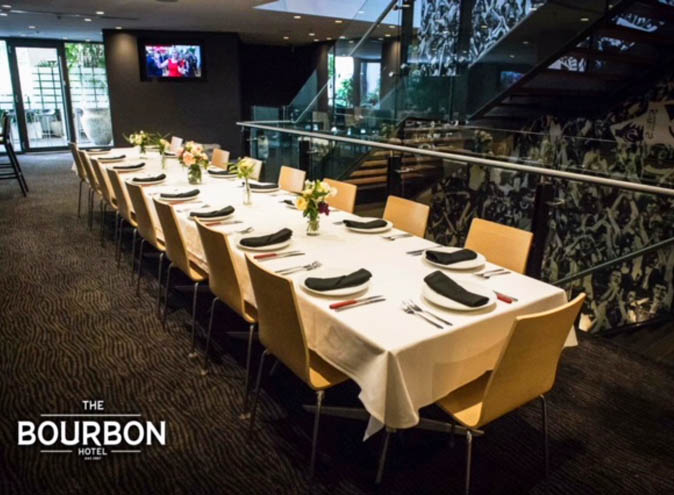 The Bourbon Hotel – Private Dining Venues