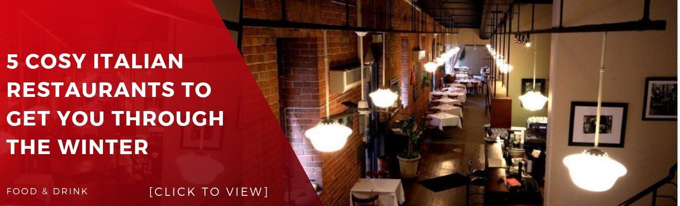 Article footer italian restaurant food bar