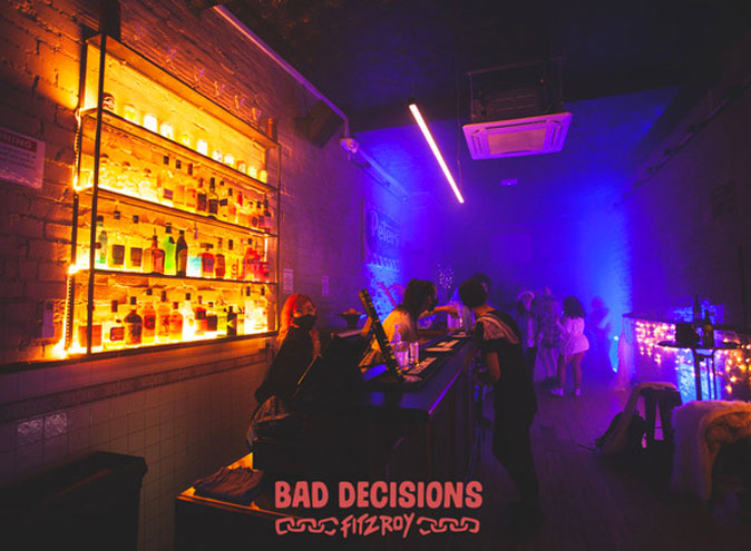 Bad Decisions <br/> Exclusive Function Rooms
