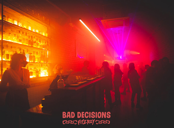 Bad Decisions Bar Melbourne Fitzroy function venue venues event events birthday private exclusive room hire top functions 001 3 1