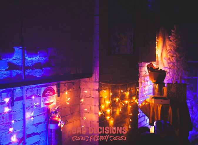 Bad Decisions Bar Melbourne Fitzroy function venue venues event events birthday private exclusive room hire top functions 001 4 1