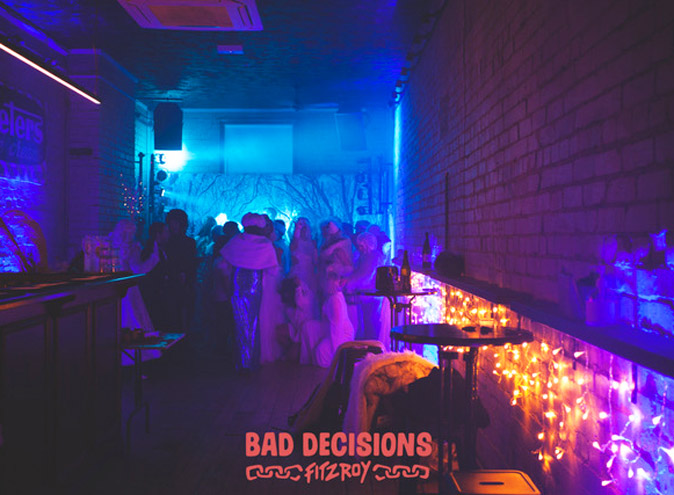 Bad Decisions Bar Melbourne Fitzroy function venue venues event events birthday private exclusive room hire top functions 001 9