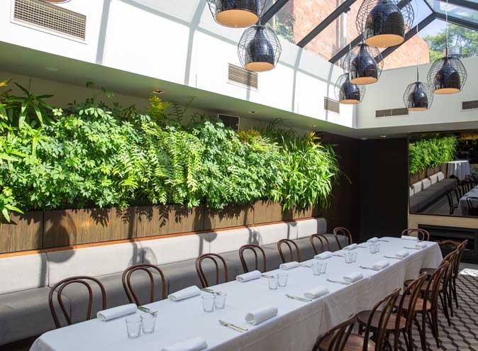 Botanical Hotel – Private Dining Venues