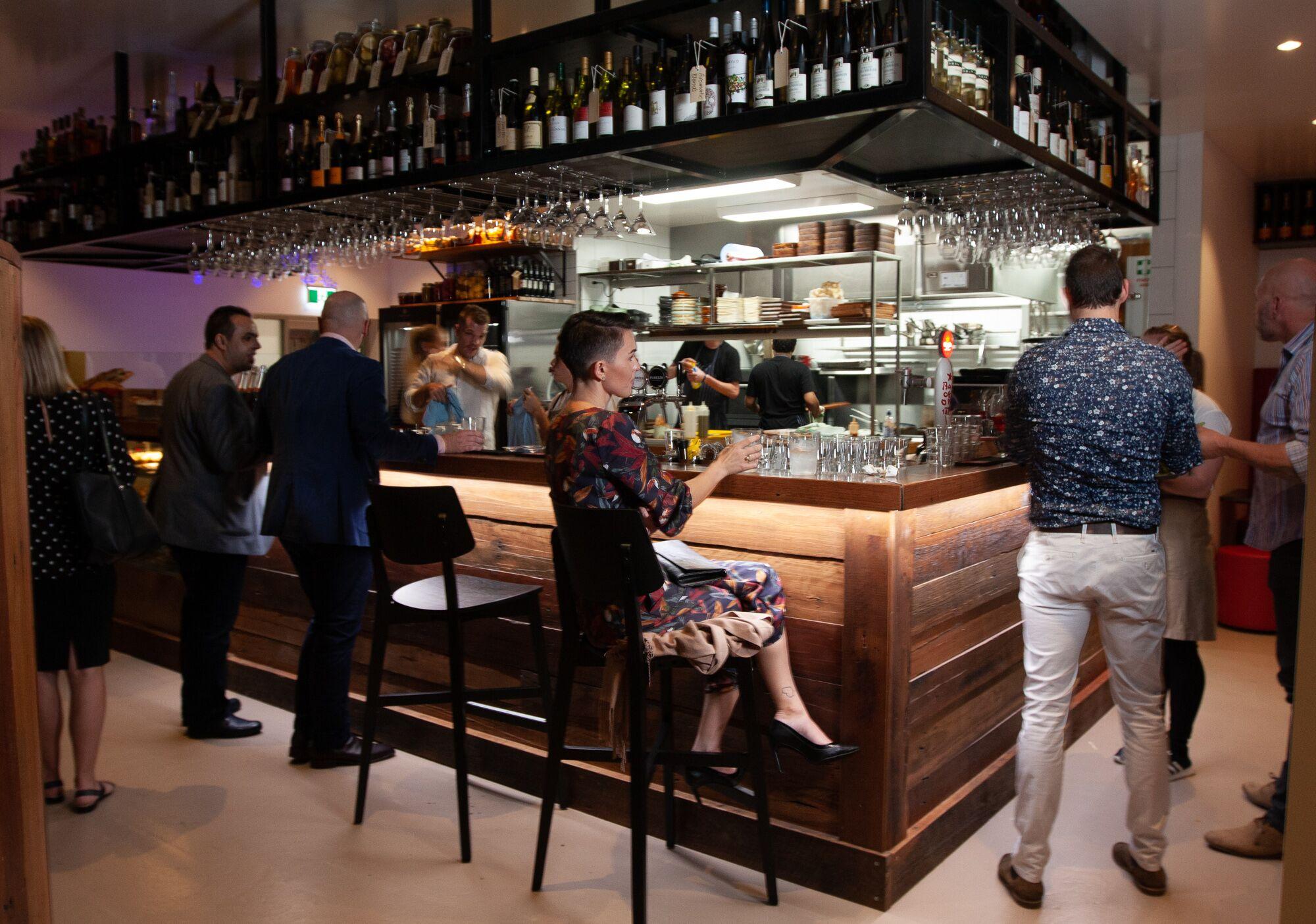 el matador brisbane interior bar alcohol spanish wine beer tapas