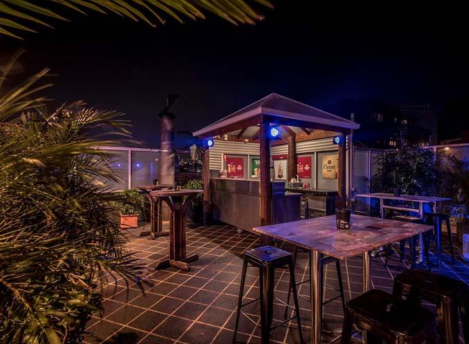 Rising Sun Hotel <br/> Beer Garden Bars