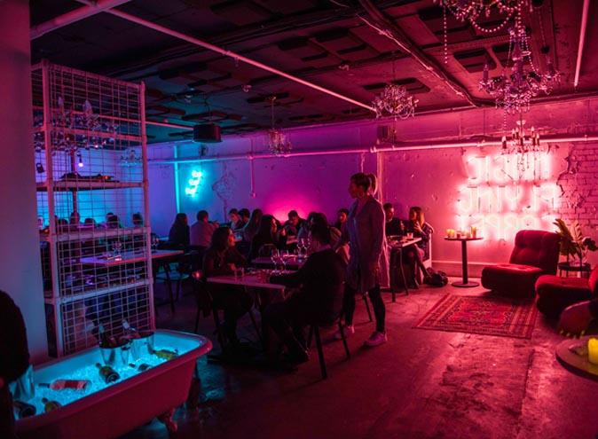 Souk CBD Restaurant Melbourne Laneway Middle East Retro Neon Hidden 5