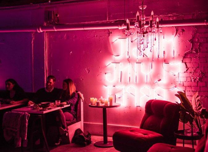 Souk CBD Restaurant Melbourne Laneway Middle East Retro Neon Hidden 7