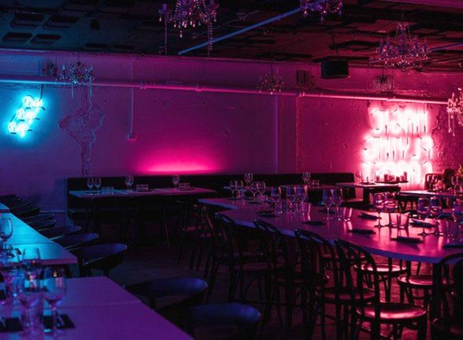 Souk CBD Restaurant Melbourne Laneway Middle East Retro Neon Hidden 9