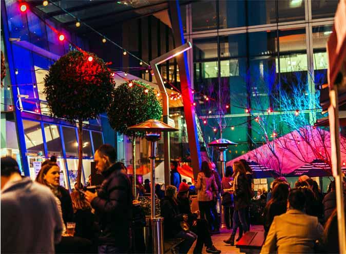 night market melbourne cbd winter laneway european cocktails friday nights bars food stalls 22
