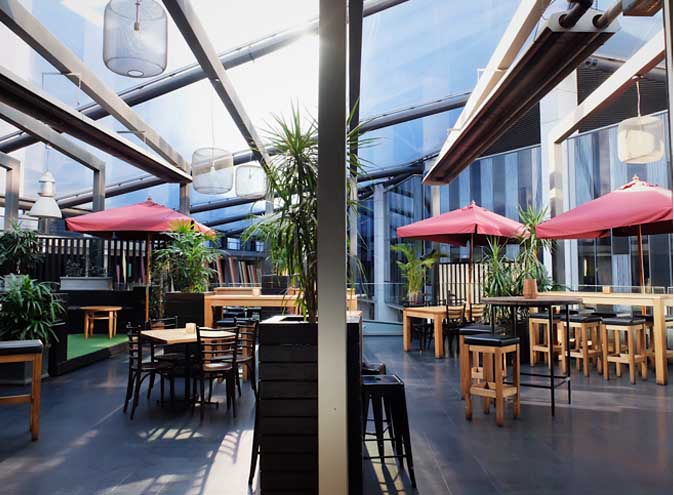 Slate Restaurant & Bar – Terrace Venues