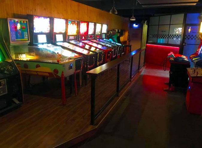 Bartronica | Arcade + Pinball Bar