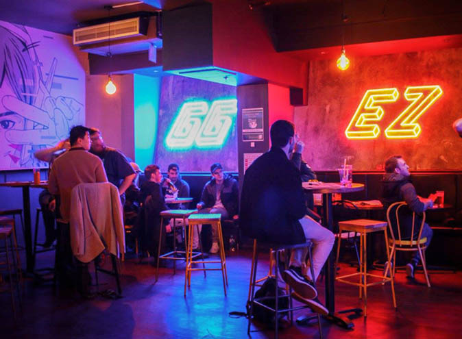 GG EZ –  E-Sports Bars