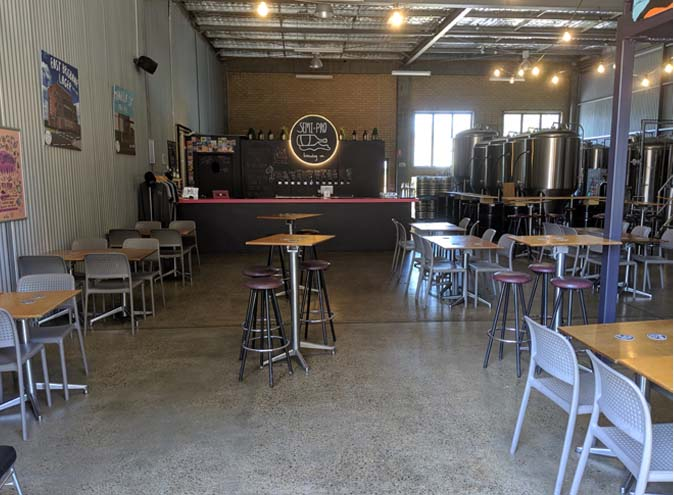 Semi-Pro Brewing Co. – Warehouse Venues