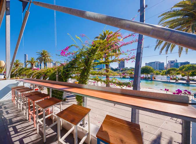southbeach social bar south brisbane bars brisbane beachside beach modern pub picturesque view riverside waterfront river 1